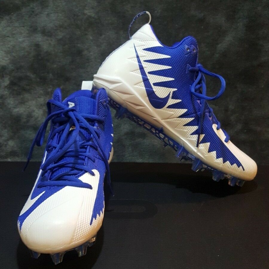 factory price 803e2 0f5ea Advertisement(eBay) New Nike Alpha Menace Pro Mid Football Cleats Game  Royal Blue Size