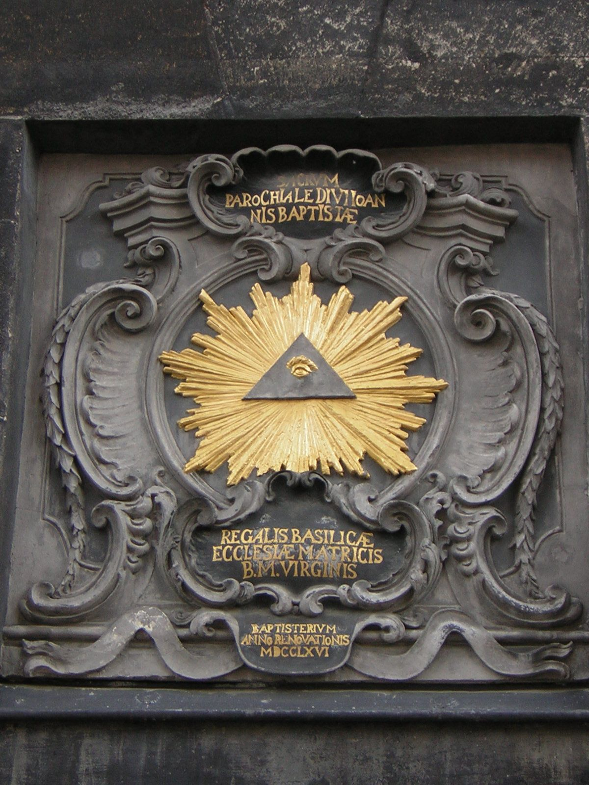 Cyclope divin nwo mind control illuminati others society all seeing eye illuminati symbol appearing on gate of aachen cathedral biocorpaavc
