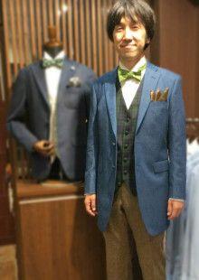 人気のデニムジャケット完成♪|結婚式の新郎タキシード/新郎衣装は
