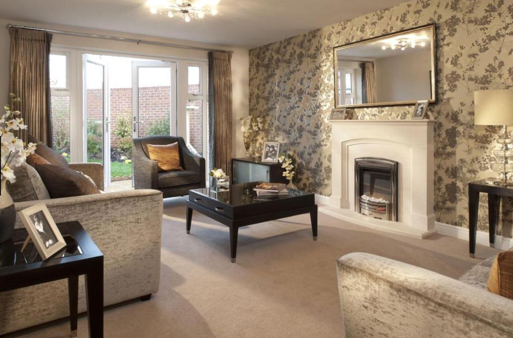 Interior Designed Living Room using a neutral colour