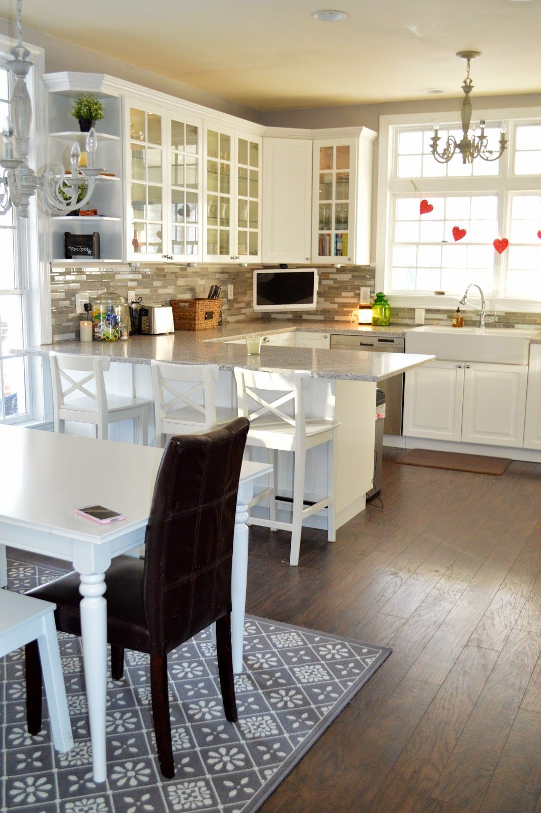 Cuisine Pour Studio Ikea Farmhouse Kitchen Makeover Using Ikea Cabinets Home Home Decor