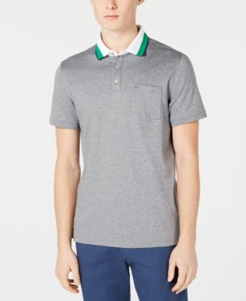 a0c186acc Calvin Klein Men Liquid Touch Contrast Collar Pocket Polo in 2019 ...
