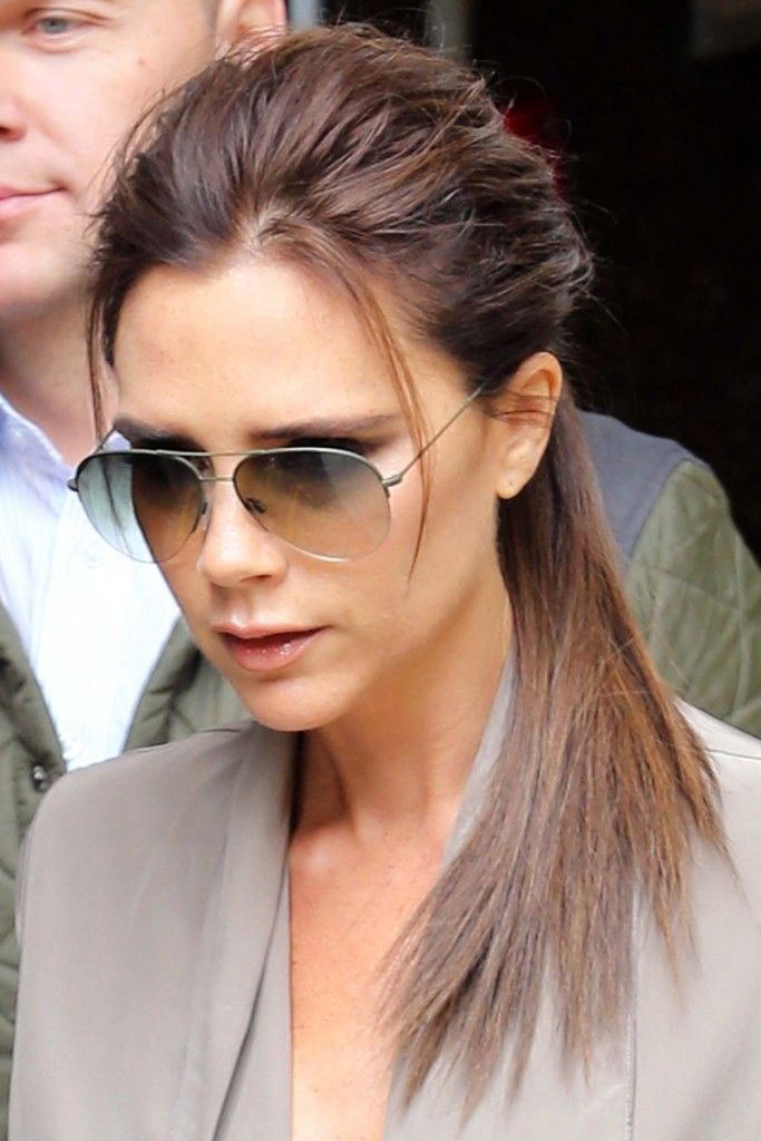 Victoria Beckham Long Hairstyles Hairstyles Pinterest Long - Beckham's hairstyle history
