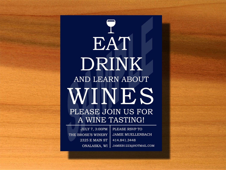 Wine tasting invitation❣ DesignsbyJamieIrene | Wine Business ...