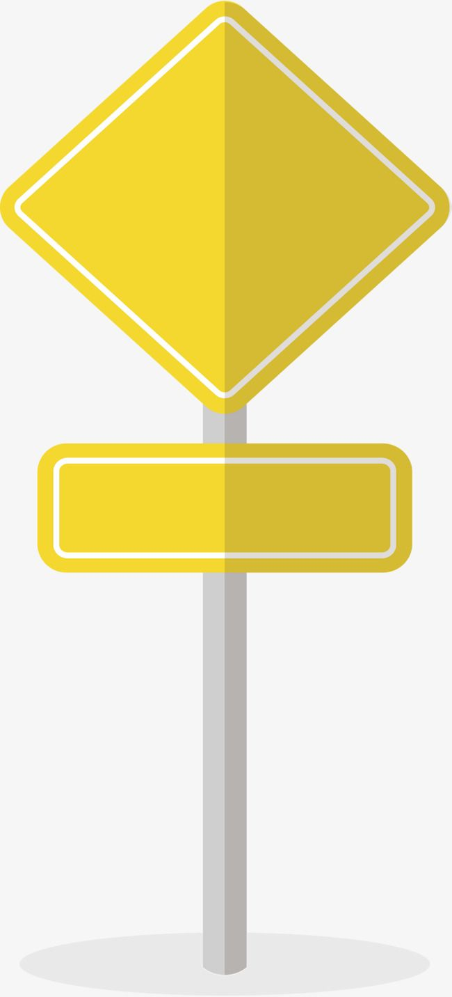 Yellow Combination Bulletin Board Png And Vector Kids Classroom Decor Road Signs Sign Templates