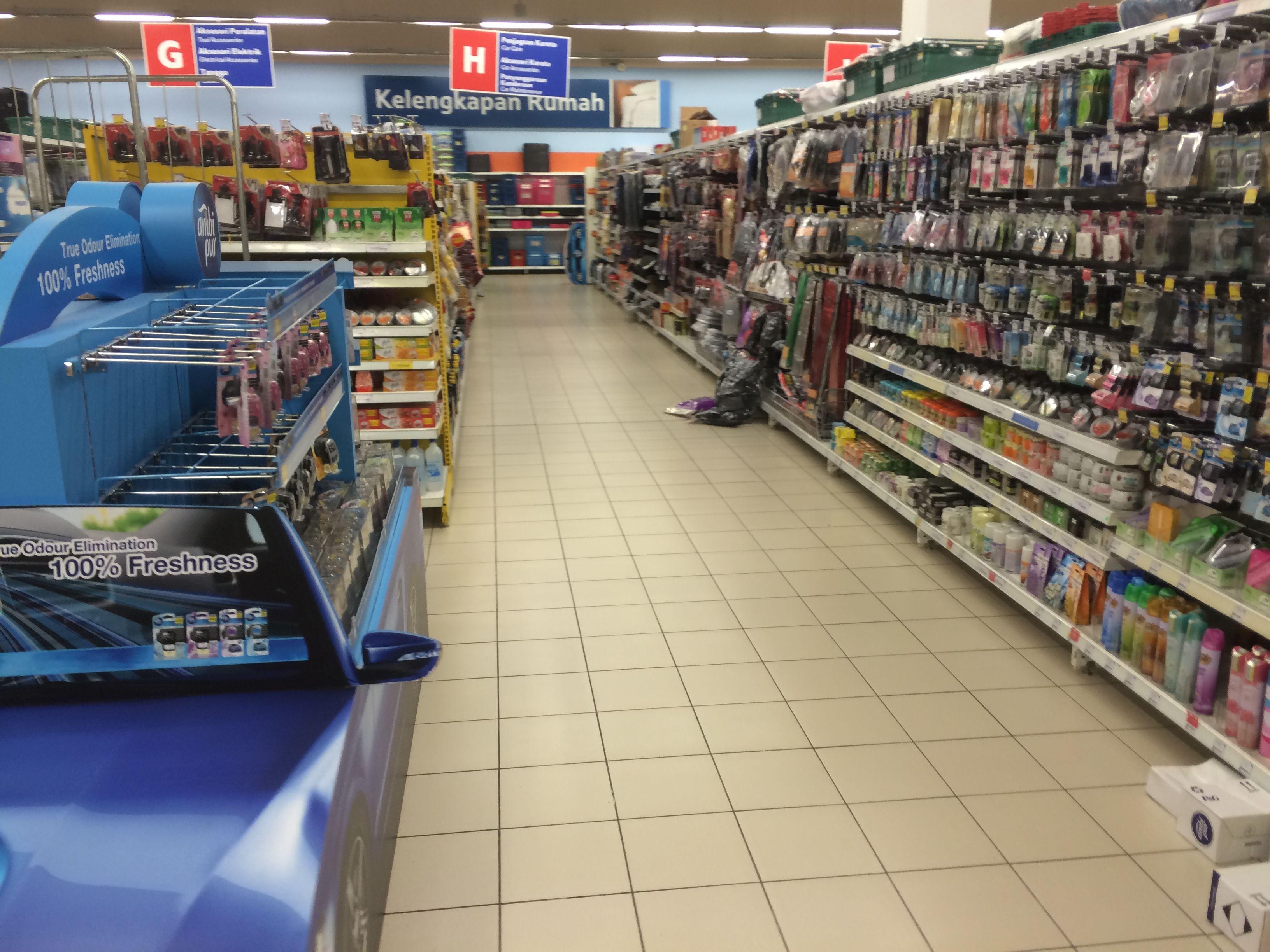 Tesco Bukit Indah Malaysia Hypermarket Food Gm Layout