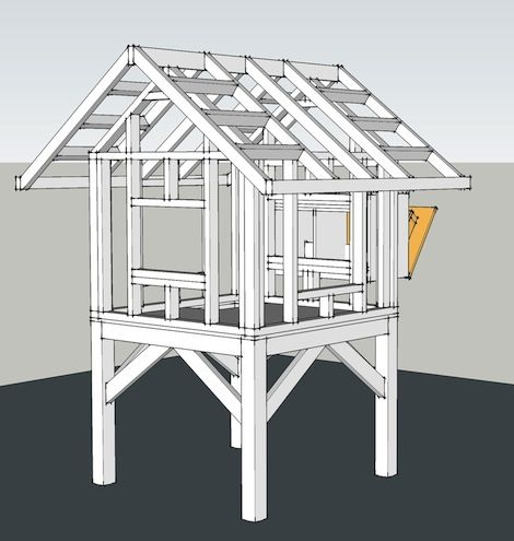 Trictle's Chicken Coop With Plans   Chicken coop decor ...