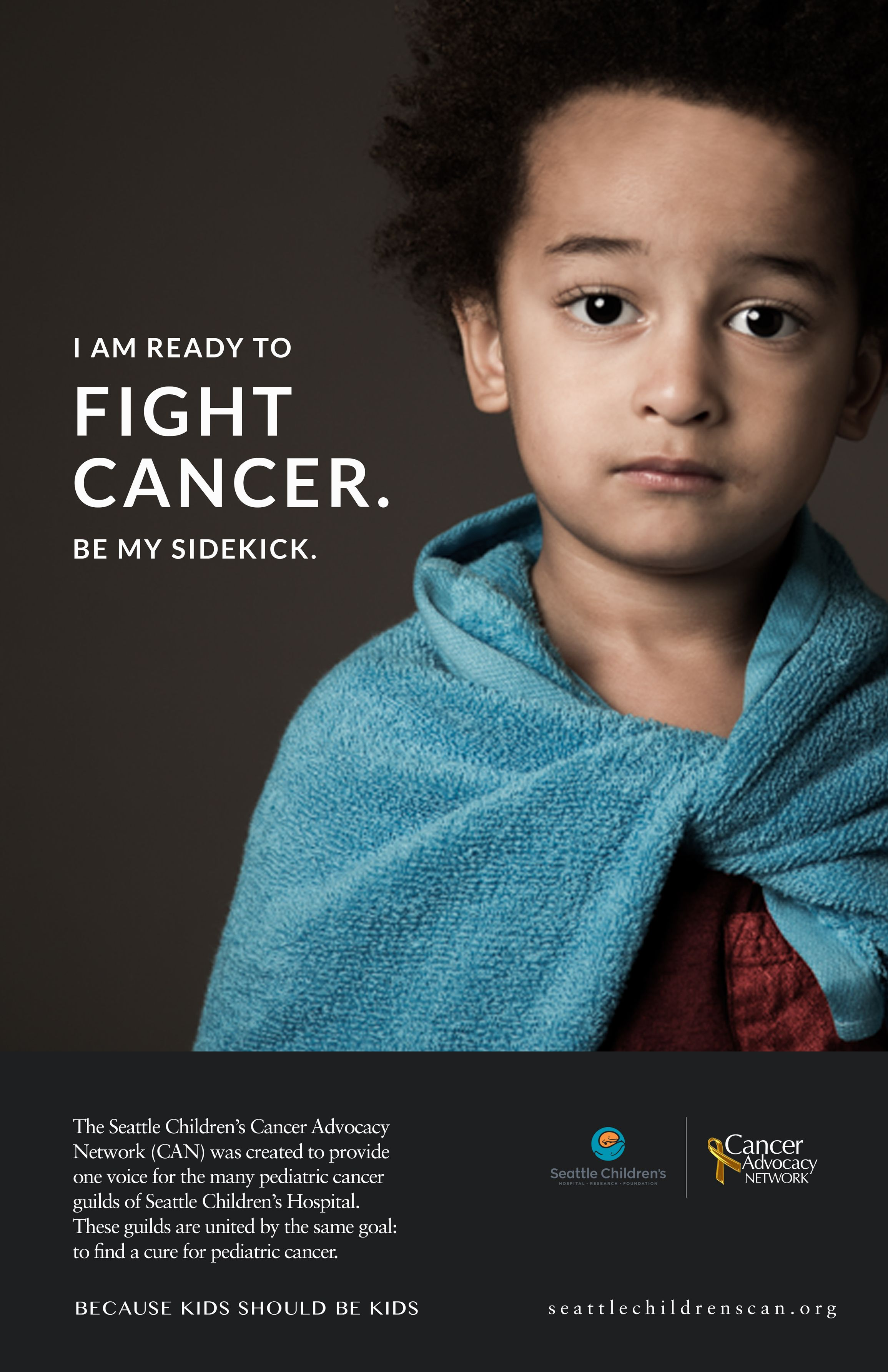 Poster advertisement for Seattle Cancer Advocacy Network ...
