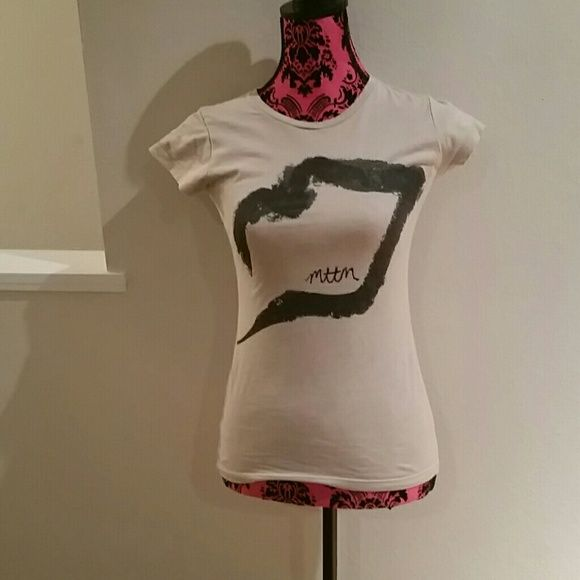 Married to the Mob t-shirt Married to the Mob brand t-shirt in size small. Used, good condition Married to the Mob Tops Tees - Short Sleeve