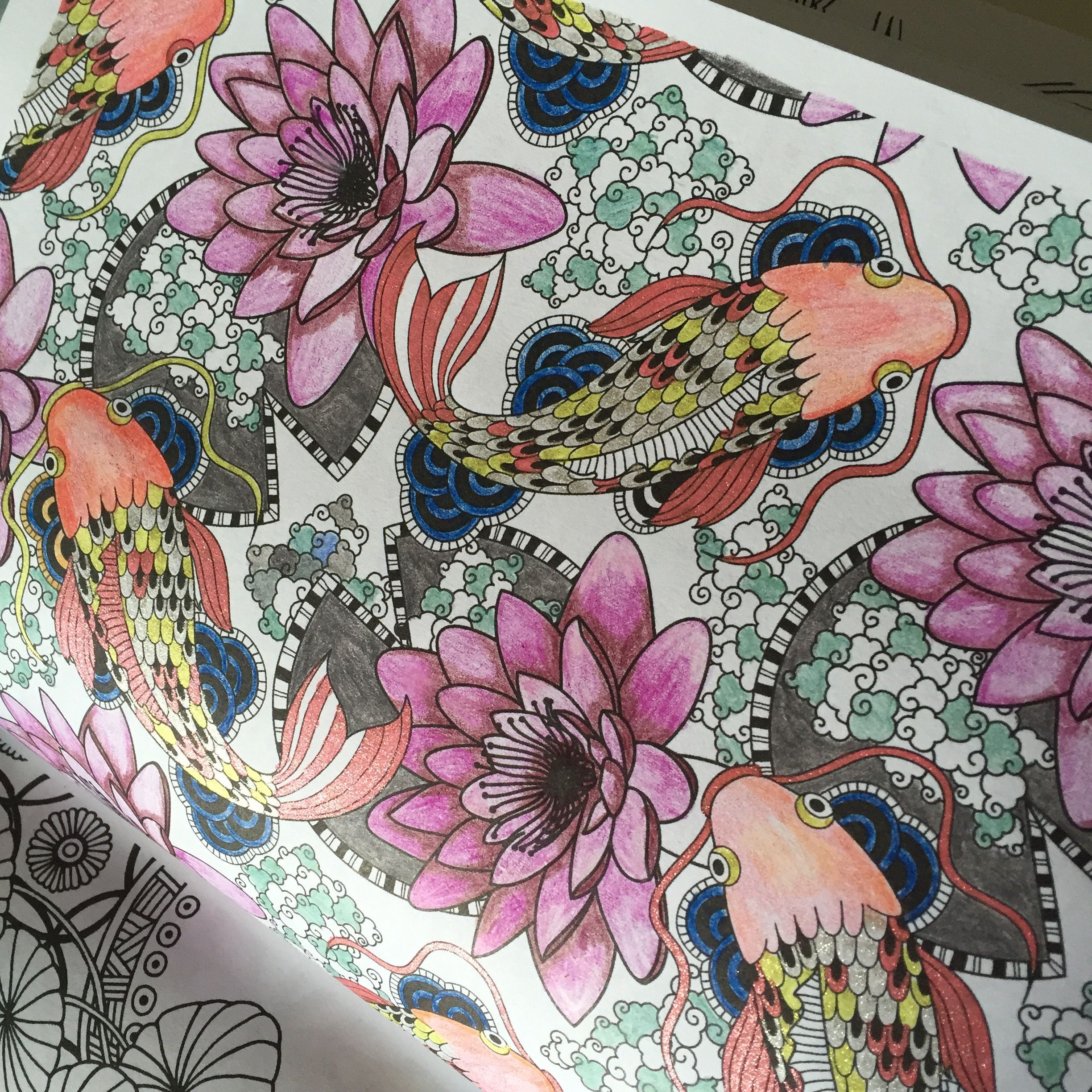 Review Posh Coloring Books Japanese Designs