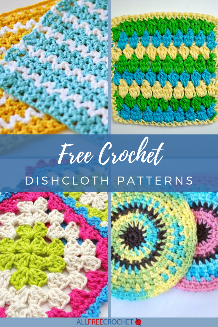 How To Crochet Kitchen Dishcloths