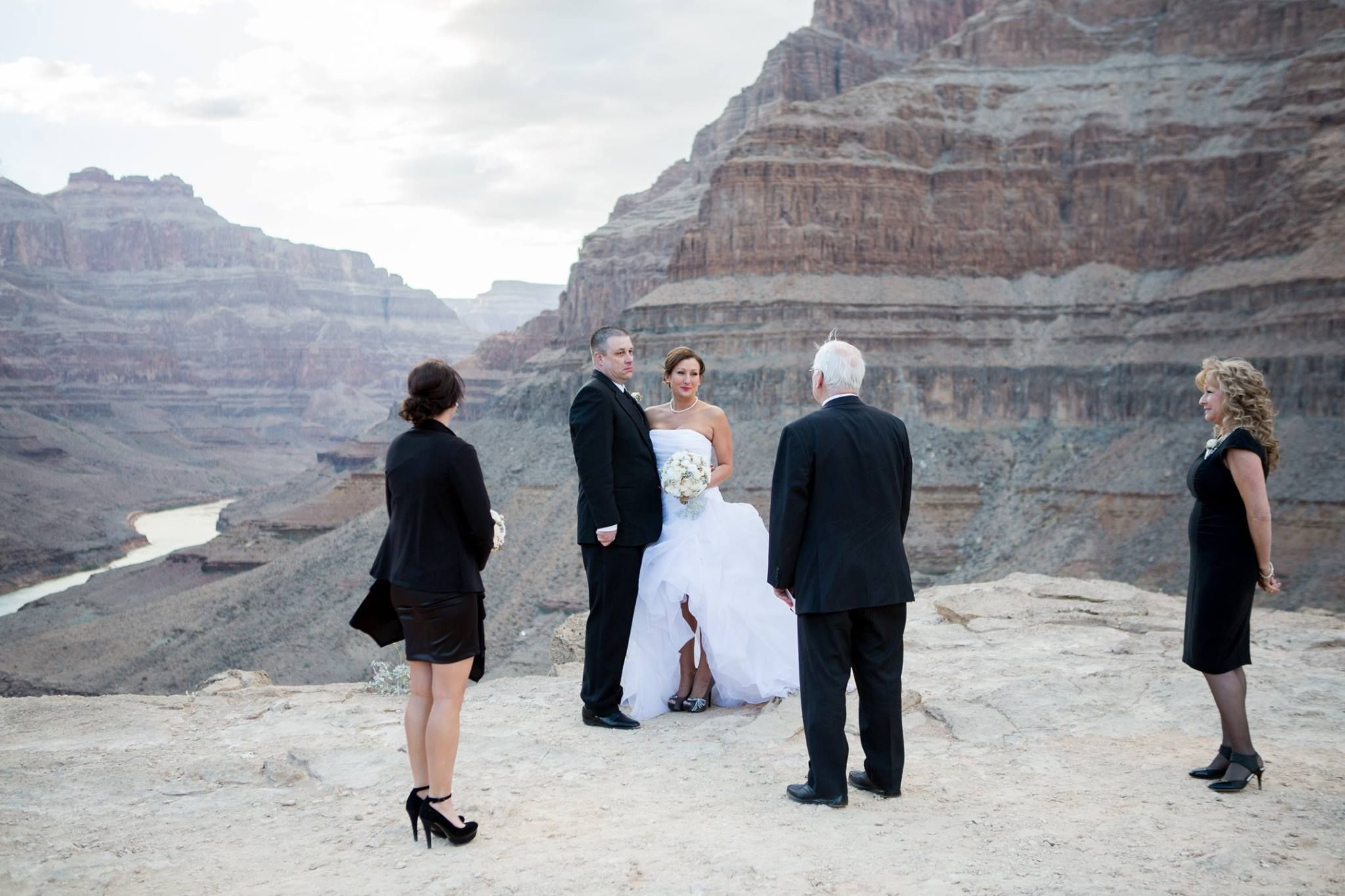 Grand Canyon Wedding Ceremony Chapel Of The Flowers