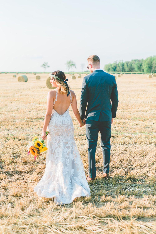 Rustic elopement session summer wedding toronto wedding