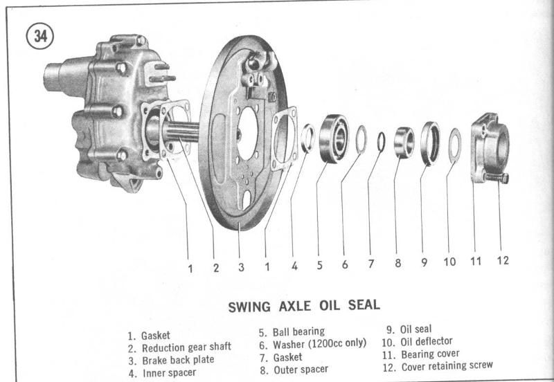 vw buses had reduction gears at the rear wheels to handle the extra load