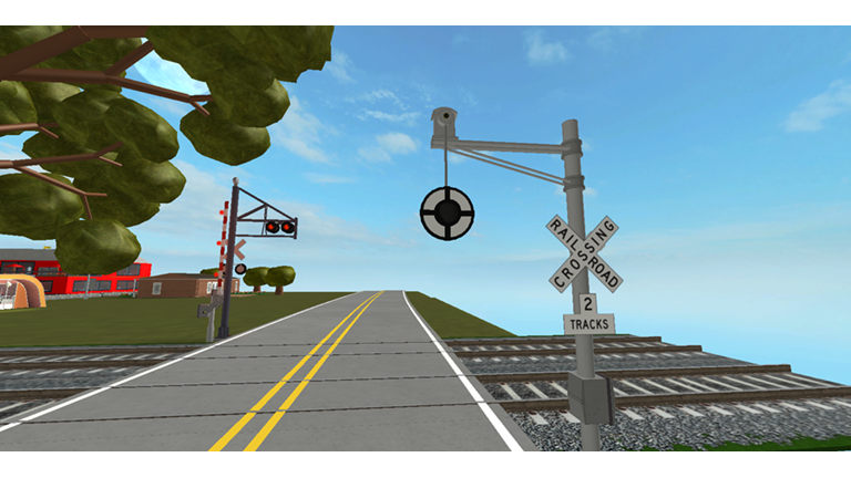 Roblox Railroad Abandone Town Railroad Crossing Roblox Towns Railroad Roblox