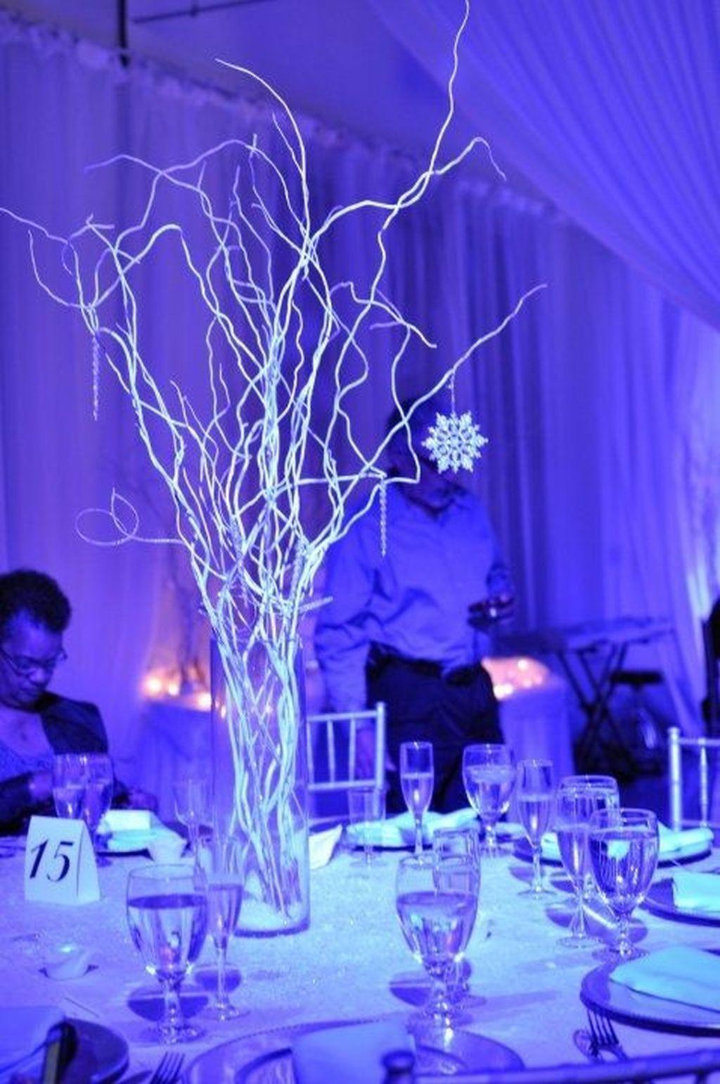 50 Stylish Winter Wonderland Wedding Theme Ideas Baile De