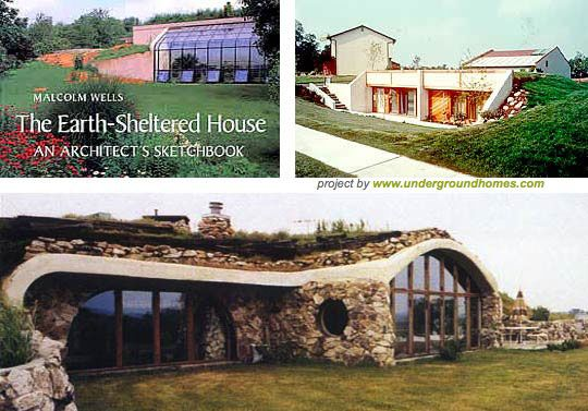 Earth sheltered houses sheltered housing shelter and earth for Building earth sheltered homes
