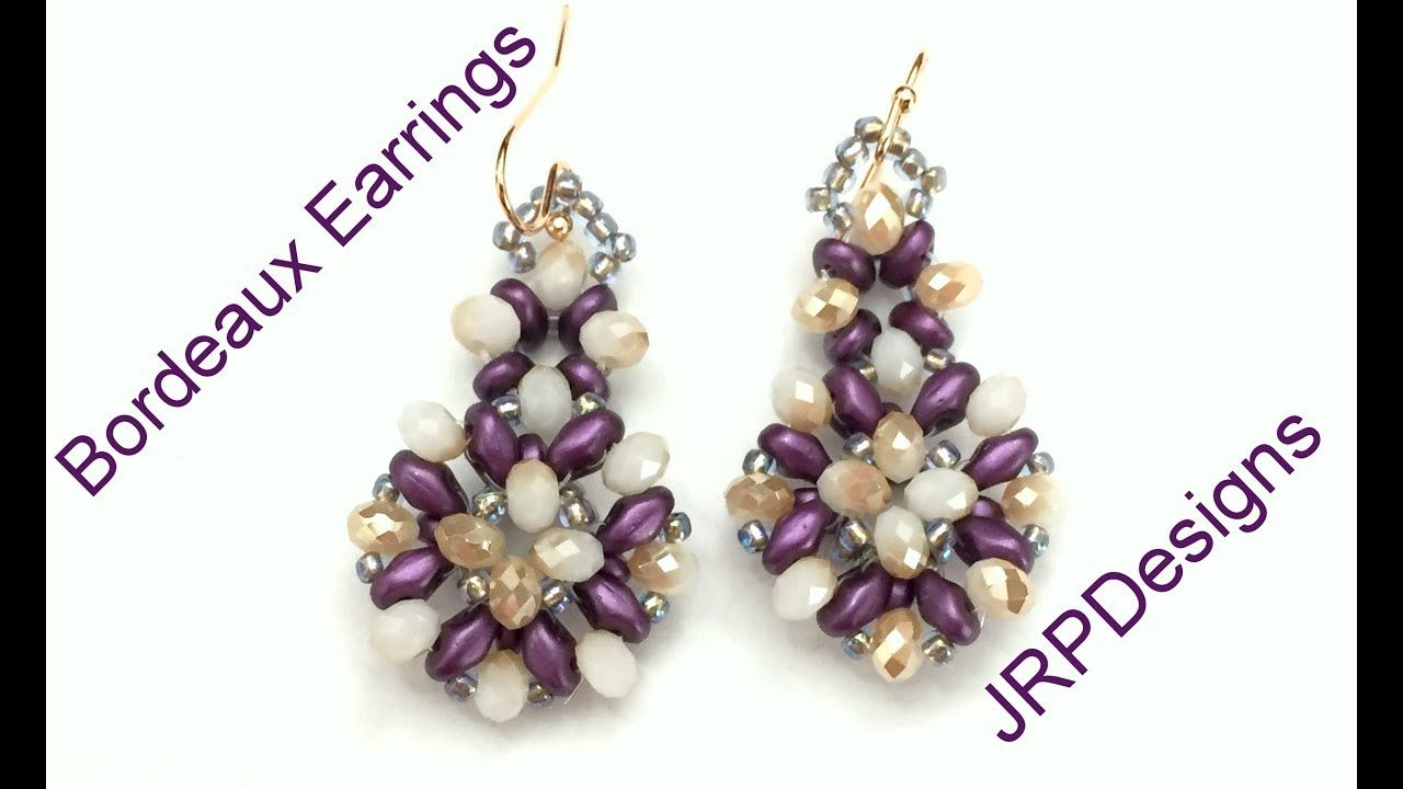 Beaded Earring Patterns For Beginners Best Decorating Ideas