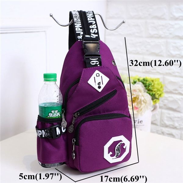 6d66c01fde Women Nylon Casual Lightweight Chest Bag Shoulder Bags Backpack Outdoor  Sports Bags is Worth Buying - NewChic Mobile.