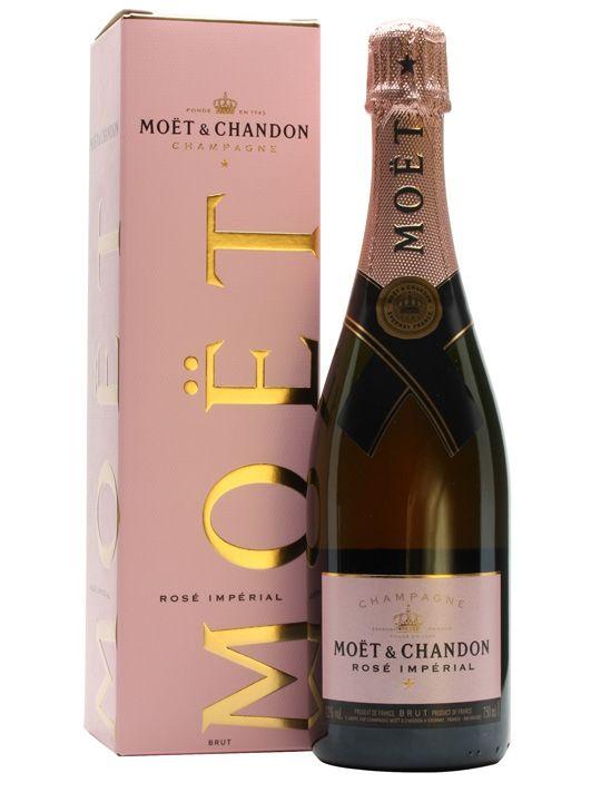Moët & Chandon Rose Imperial NV / Pink Champagne : Buy Online - The Whisky Exchange