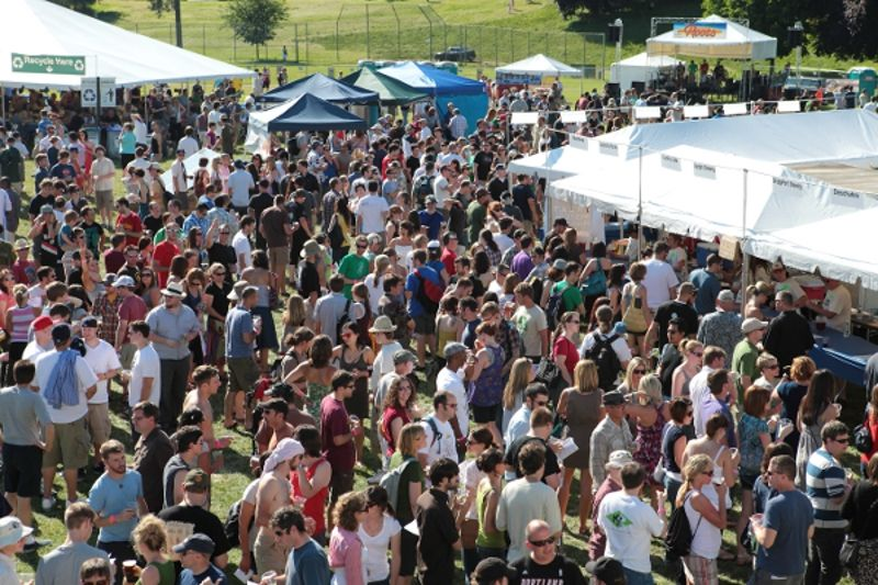 For organic beer lovers the north american organic for Holiday craft fairs portland oregon