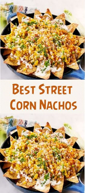 Best Mexican Street Corn Nachos #cornrecipes #mexicanfoodrecipes #mexicanstreetcorn