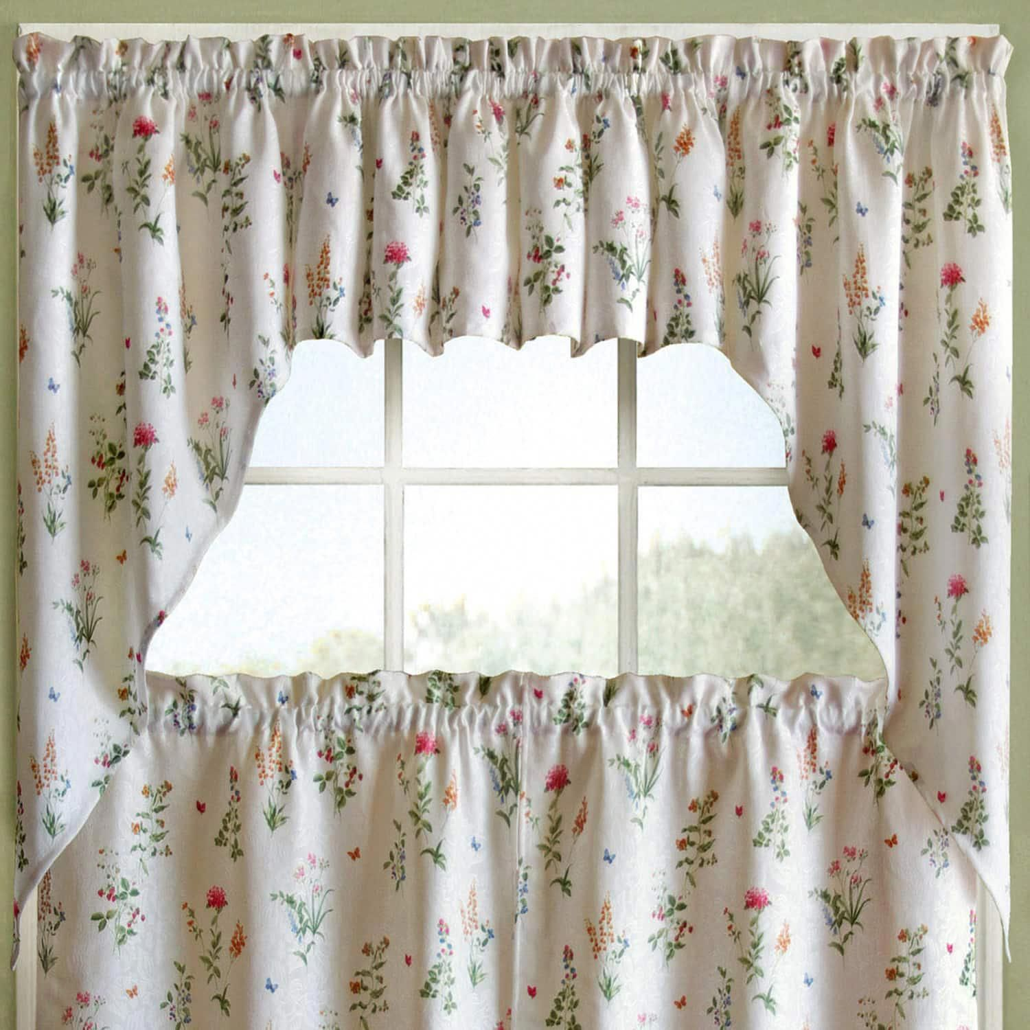 9ef936ae11f036967575278e118ec3e9 - Better Homes And Gardens Ivy Kitchen Curtain Set