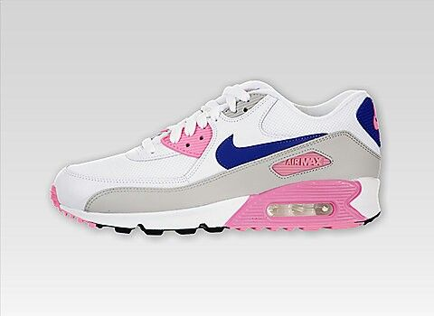 4020330978f6 Nike Women s Air Max 90 Essential(White Concord Zen Grey Pink Glow)   bestsneakersever.com  sneakers  shoes  nike  airmax90  essential  women   concord  white ...