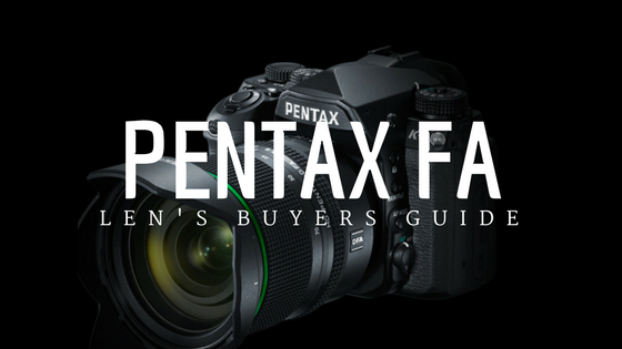 Looking for lenses for your #Pentax K-1, check out the Don's Photo Pentax FA Len's Buyers Guide for a complete list of Pentax, Sigma, and Tamron lenses designed for your Pentax full frame camera.