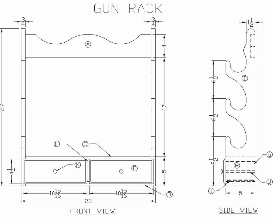 gun rack ideas