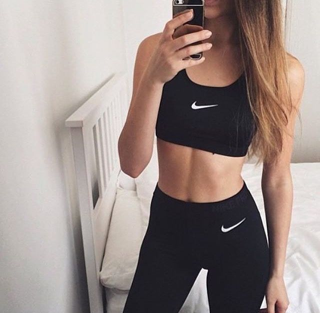 completi fitness donna palestra nike