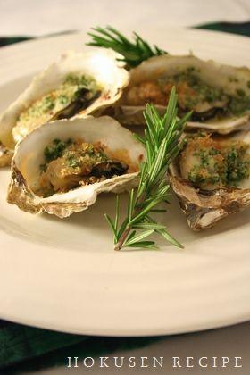 牡蠣のエスカルゴバター - 北釧水産の北海道レシピ