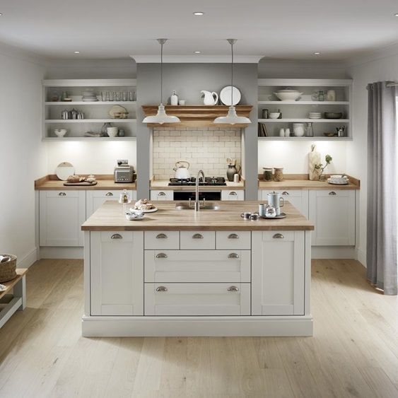Best Creating The Rustic Trend In 2020 Shaker Kitchen 400 x 300