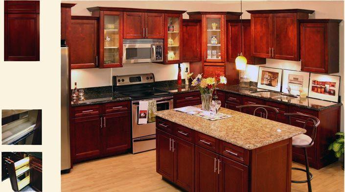 Superb Cherry Maple Kitchen Cabinets