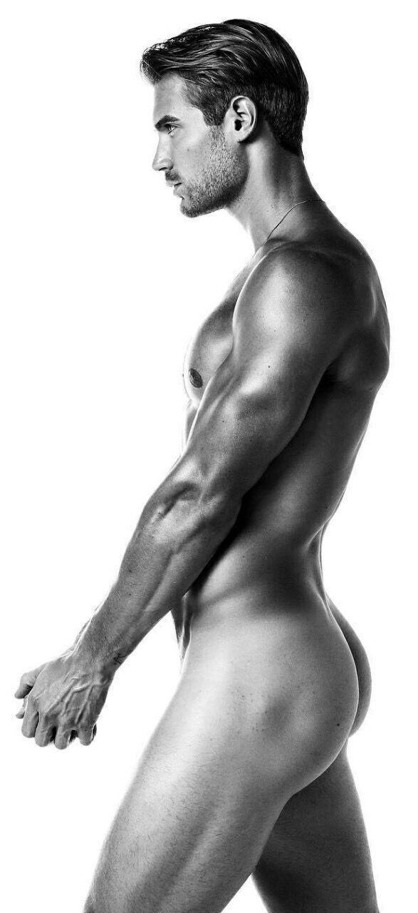 Beautiful perfect nude black men share