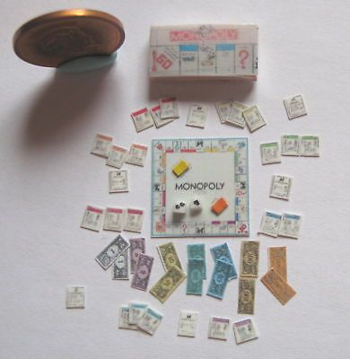 4Sets Miniature Playing Cards Mini Poker Game Dollhouse 1//12 Scale Accessory