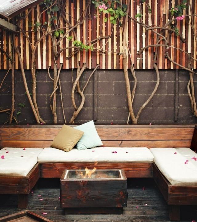 Aménager un coin salon extérieur confortable 53 idées