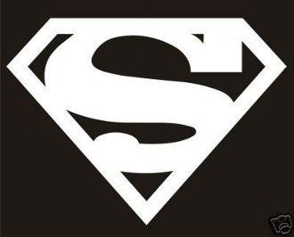 New Custom Screen Printed T Shirt Superman Symbol Superhero Smal