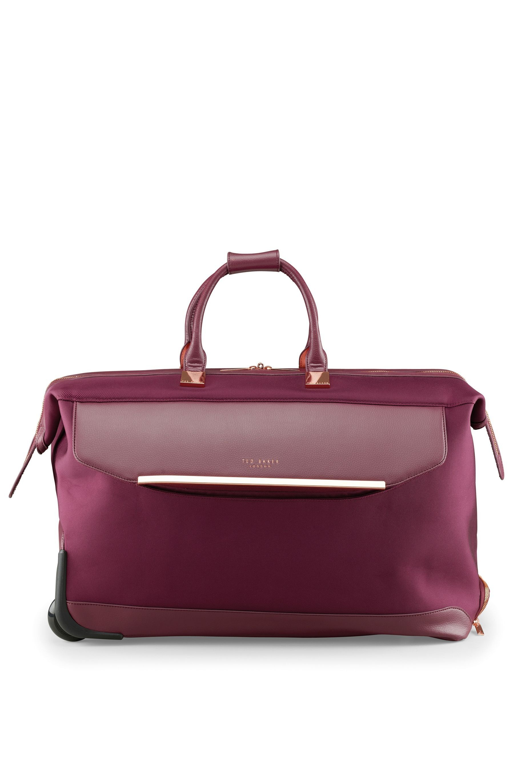9b1e1d0b0 Womens Ted Baker Albany Wheeled Holdall - Red in 2019 | Products ...