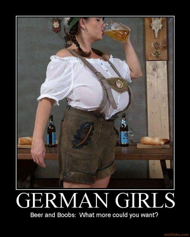 Beer fest boob girl
