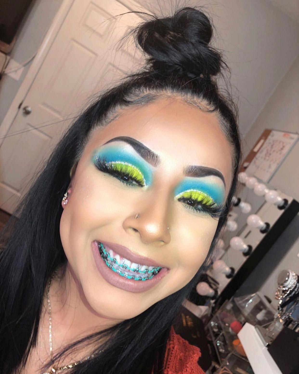 Follow Tropic M For More Instagram Glizzypostedthat Originaleyemakeup Makeup Eye Makeup Cute Braces