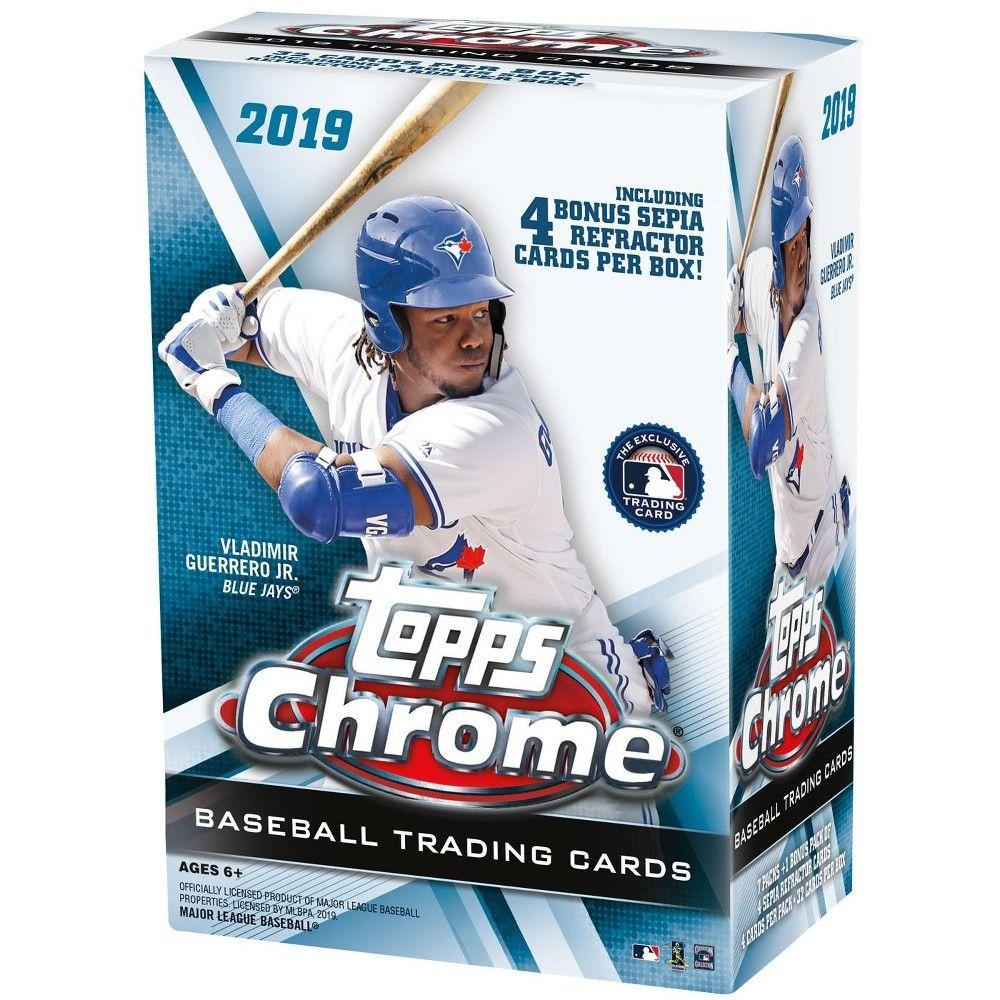 MLB 2019 Topps Chrome Baseball Trading Card BLASTER Box [7