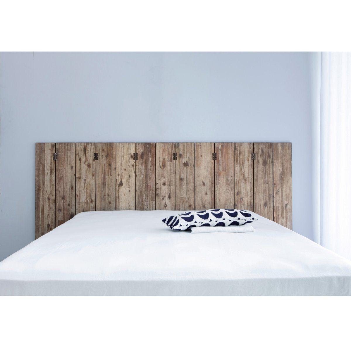 t te de lit paravent alam en manguier massif am pm la redoute projet rym e pinterest. Black Bedroom Furniture Sets. Home Design Ideas