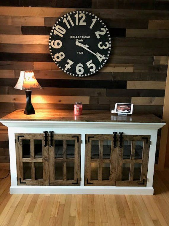 Farmhouse Style Tv Stand Free Shipping