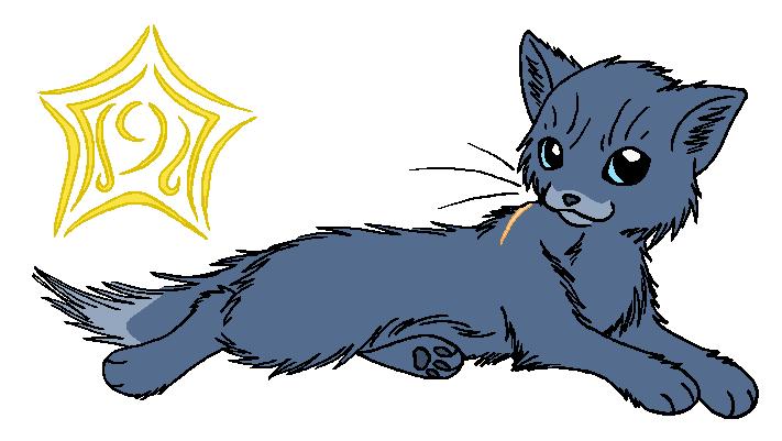 Thunderclan Bluestar By Wildpathofshadowclan On Deviantart Warrior Cats Deviantart Warrior