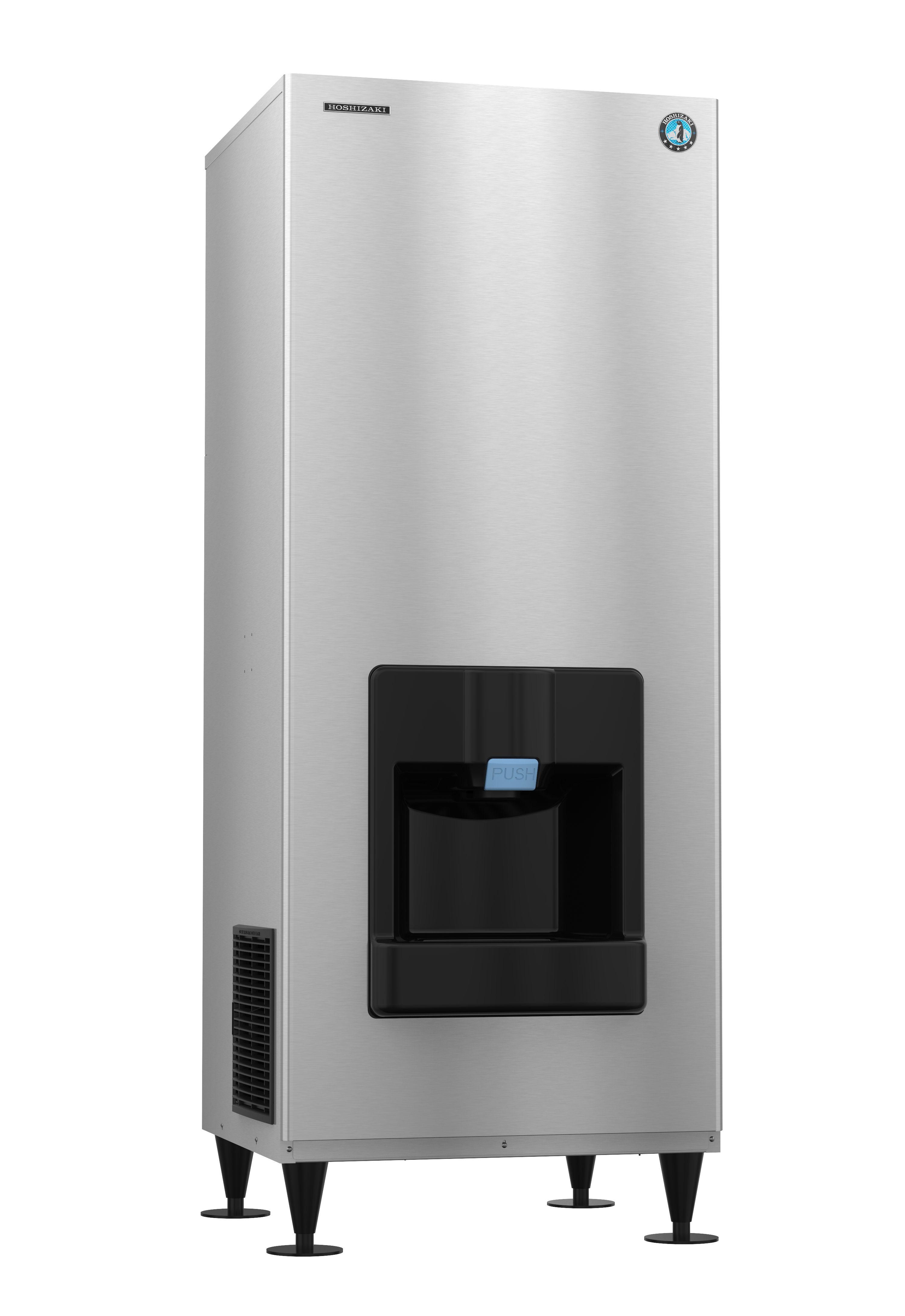 Dkm 500baj Crescent Cuber Icemaker Air Cooled Built In Storage Bin Ice Machine Built In Storage Storage Bin