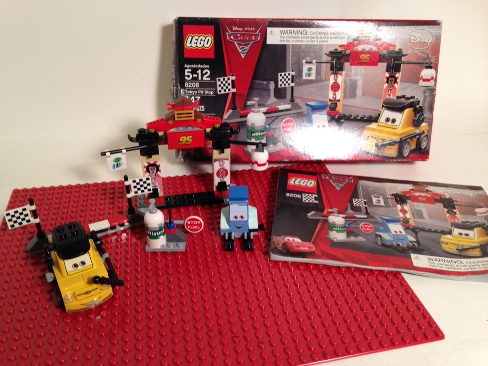 Lego Disney Cars Set 8206 Complete With Instructions