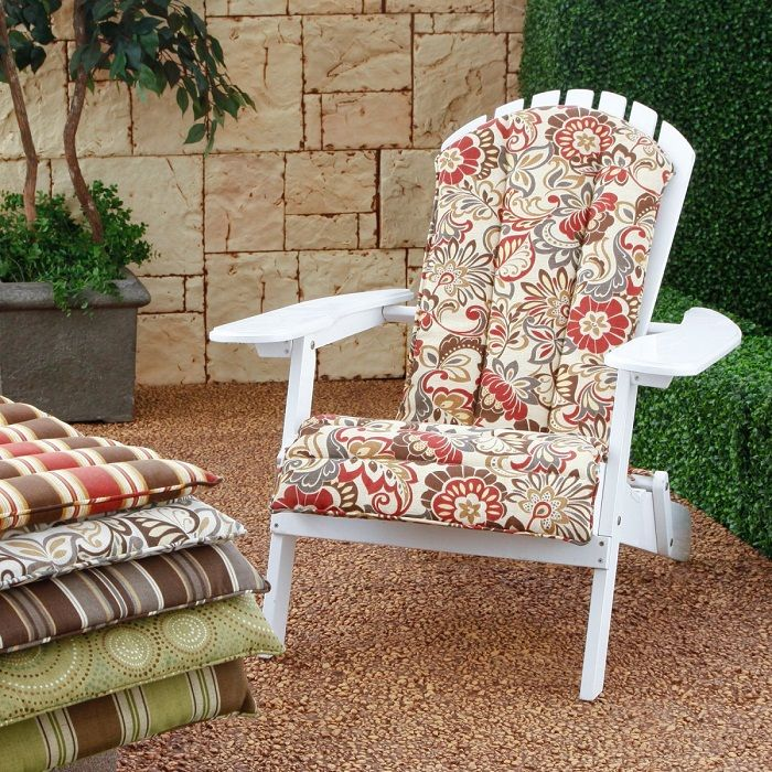 Adirondack Rocking Chair Cushion Pattern (With images