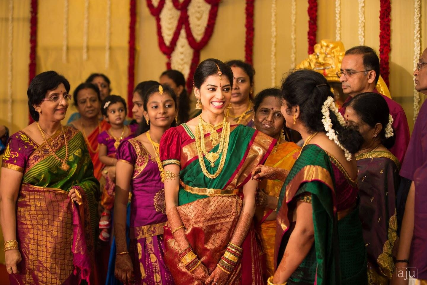 Shalini Jaiswin Real Wedding Ezwed South Indian Website