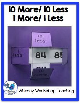 A collection of ideas to use with your classroom Hundreds Chart.  Whimsy Workshop Teaching